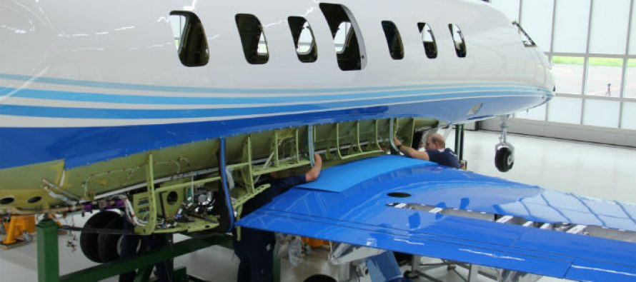Pilatus building first PlaneSense PC-24