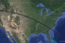 Sky-watchers gather to see total solar eclipse