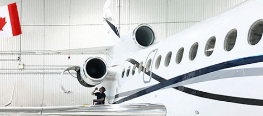 Dassault Falcon Jet selects Skyservice Toronto as new ASC