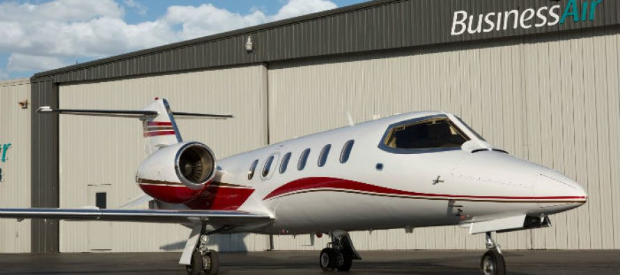 Business Air adds Learjet 31A to charter fleet