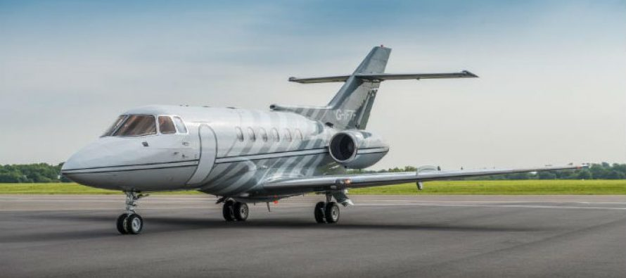 Newly refurbished Hawker 800B available for charter