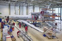Aero-Dienst completes first of three C inspections on Falcon 7Xs