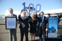 Citation Latitude reaches 100th delivery milestone