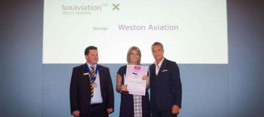 Weston Aviation wins second BACA FBO award