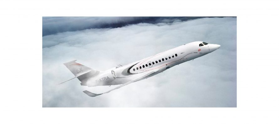 Dassault launch Falcon 5X replacement