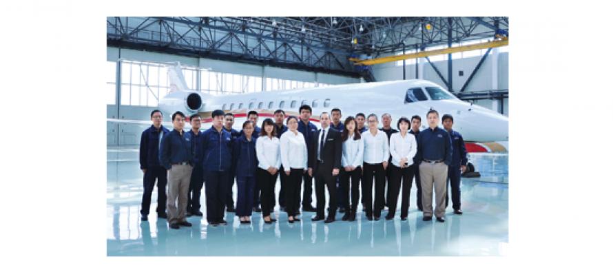 Dassault authorises ExecuJetHaite in China