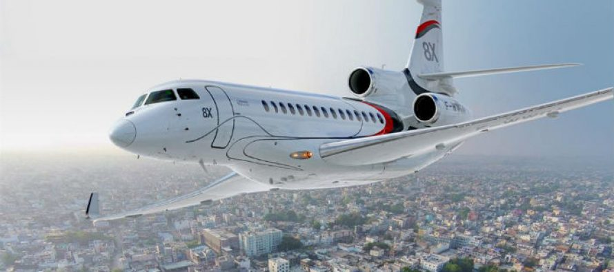 Malaysian Jet Services trades back Falcon 7X for new Falcon 8X
