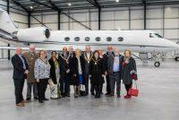 Mayors preview developments at London Biggin Hill Airport
