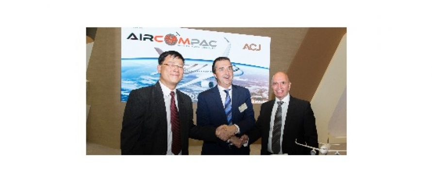 Aircom Pacific Inc partners with Airbus ACJ to develop an innovative Ka-Band solution.