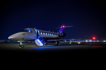 Embraer New Seat Design for the Legacy 450 and Legacy 500 Business Jets Makes EBACE Debut onboard the Legacy 450