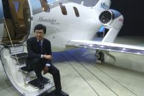 Michimasa Fujino's dream of seeing the HondaJet in Japan has just moved one step closer