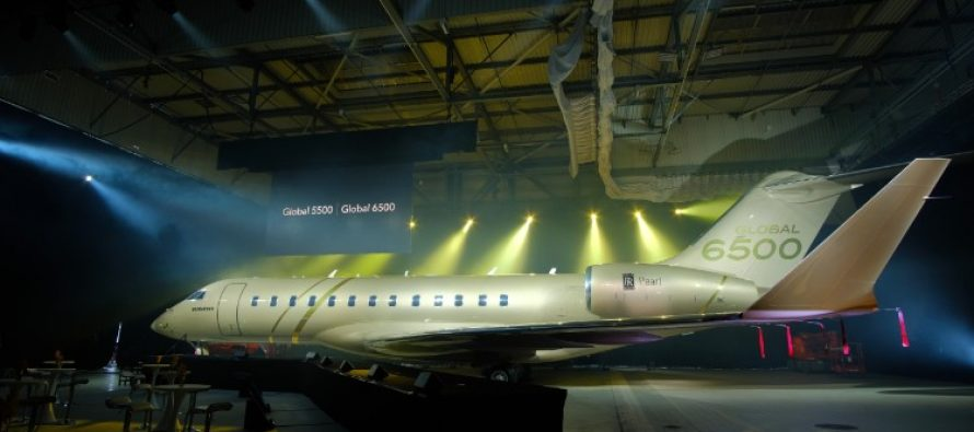 Bombardier launches Global 5500 and Global 6500