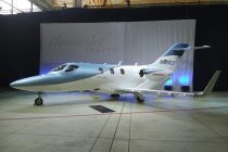 The new HondaJet Elite is quieter and louder at the same time