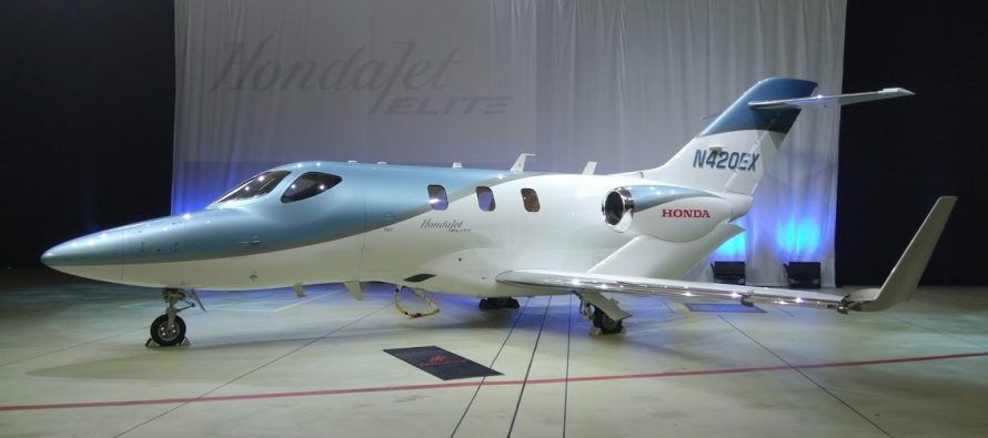 Honda delivers first HondaJet Elite, says it has more than 10 orders from Japan