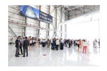 Inauguration of AMAC Aerospace wide body hangar in Milas-Bodrum