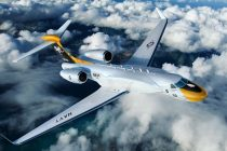 Gulfstream delivers telemetry range support aircraft platform to U.S. Navy