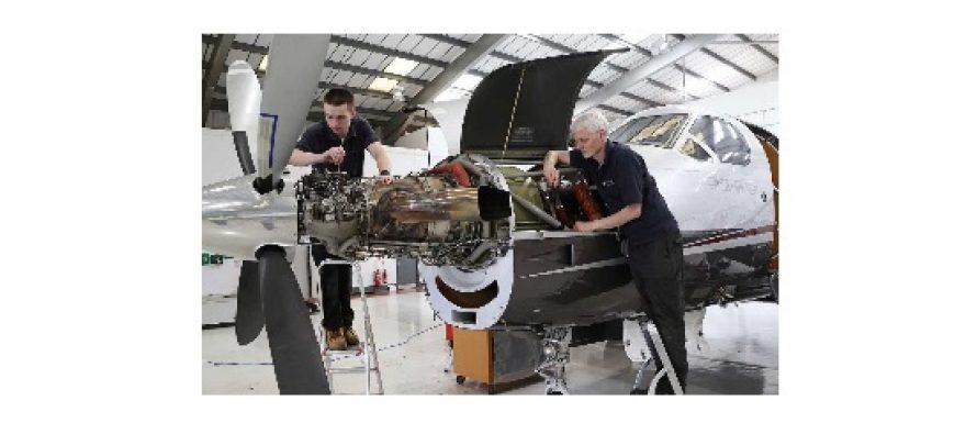 Oriens Aviation now supporting 12 Pilatus PC-12s at its authorised Pilatus service centre