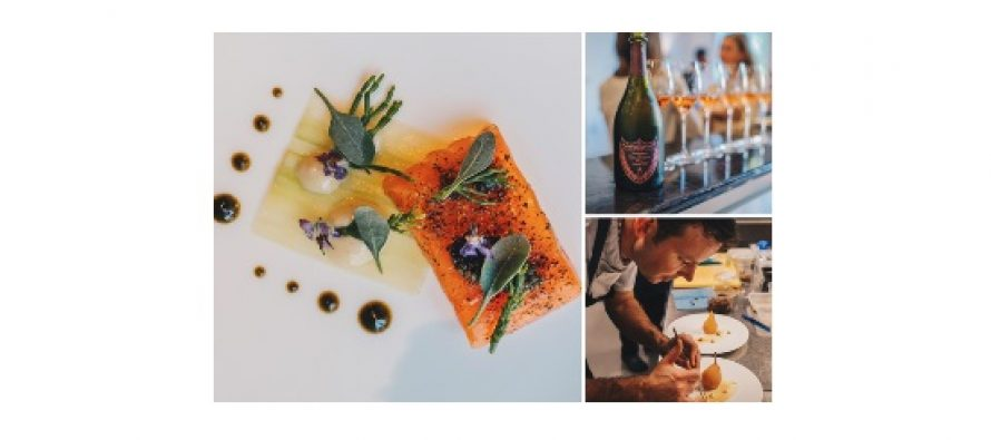 Moët Hennessy, On Air Dining and Victor combine to serve ultimate fine dining at altitude
