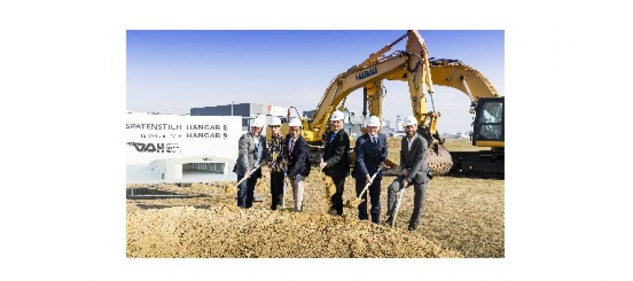 Vienna Aircraft Handling GmbH (VAH) expands its offering with the construction of Hangars 8 and 9