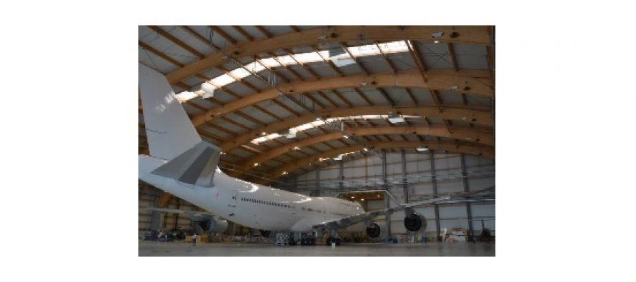 Boeing 747 VIP aircraft has entered AMAC's facility in Basel