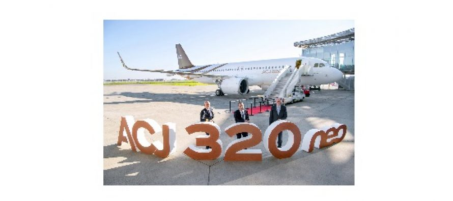 Acropolis Aviation takes delivery of first ACJ320neo