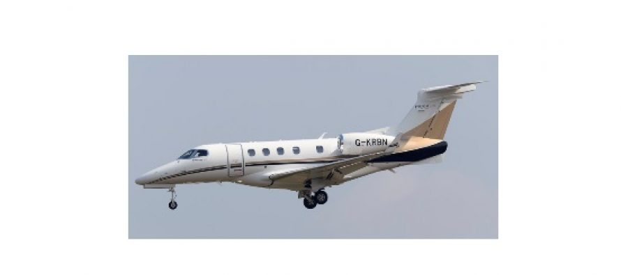 SaxonAir expands charter fleet with the addition of an Embraer Phenom 300 hot based throughout Europe