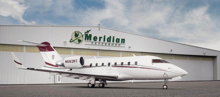 Meridian Air Charter adds Challenger 650 to fleet