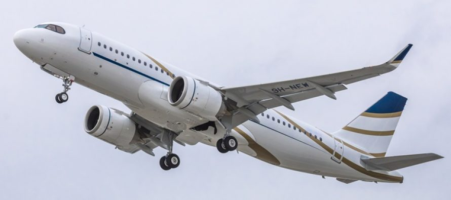Comlux takes delivery of its first Airbus ACJ320neo