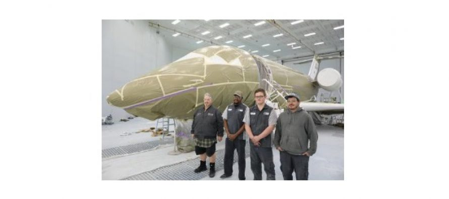 Duncan Aviation has been busy assembling experienced and trained paint team in Provo
