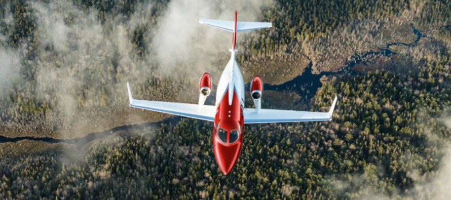 Honda Aircraft delivers first HondaJet Elite to Canadian customer
