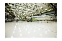 Bombardier welcomes first Global 6500 into its completion facility in Montreal